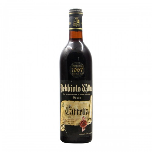 Nebbiolo D'Alba Bric Paradiso 1967 TENUTA CARRETTA GRANDI