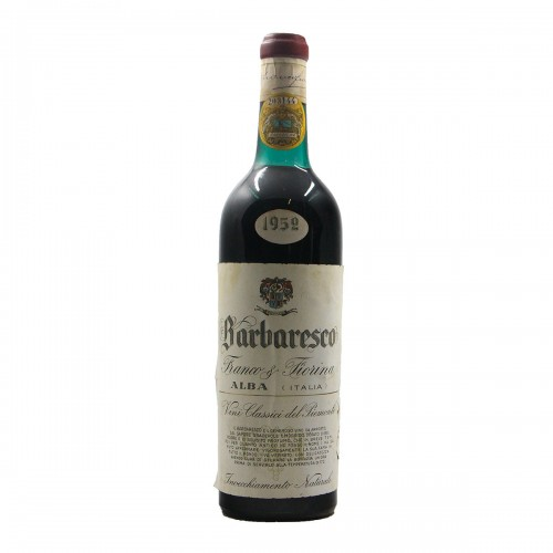 BARBARESCO 1952 FIORINA FRANCO Grandi Bottiglie