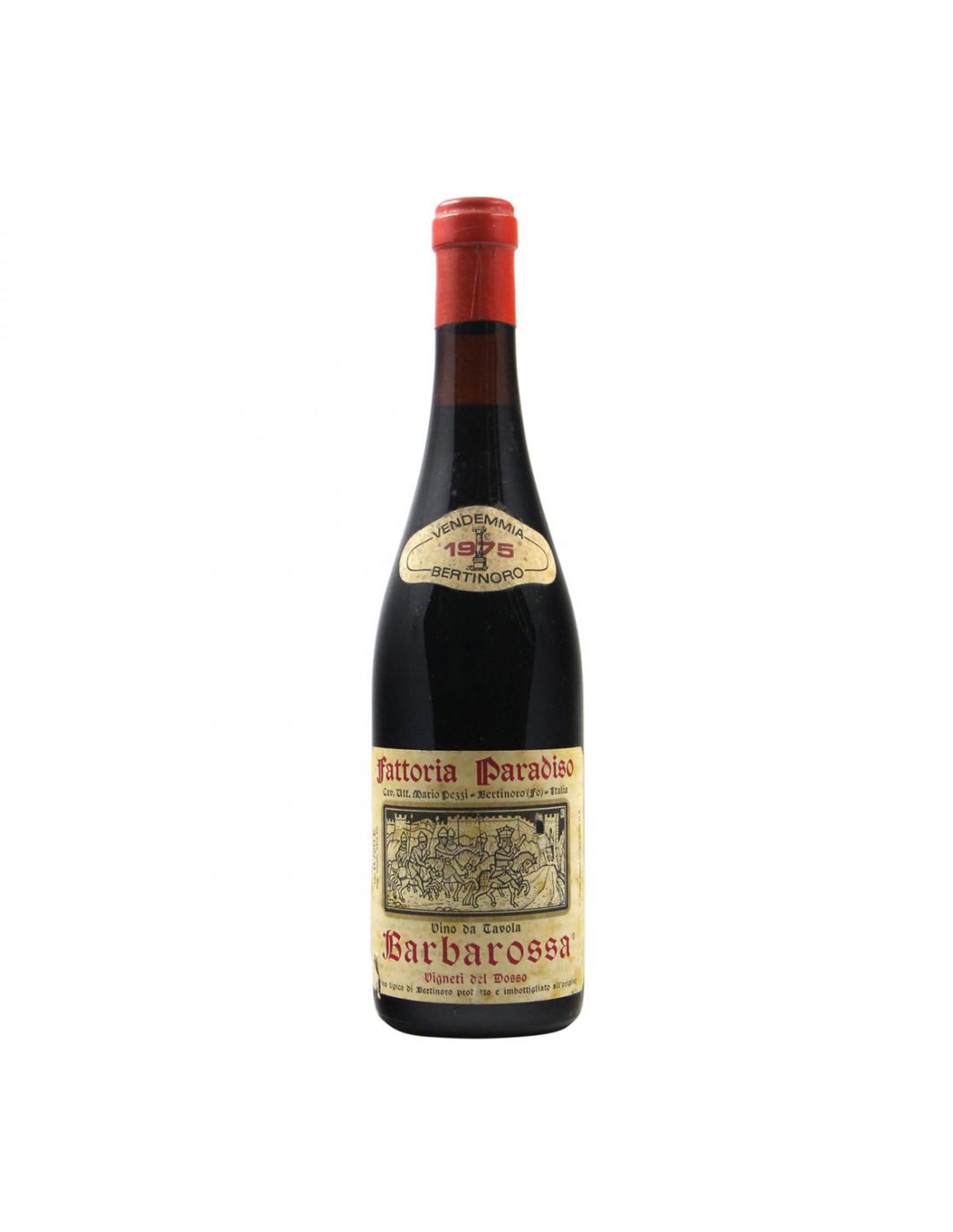 BARBAROSSA 1975 FATTORIA PARADISO Grandi Bottiglie