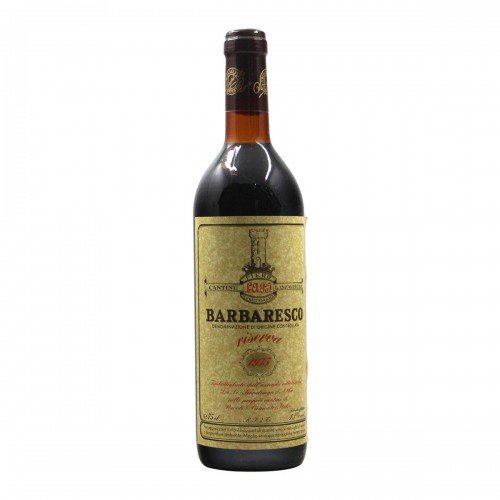 BARBARESCO RISERVA 1975 CANTINE LANZAVECCHIA Grandi Bottiglie
