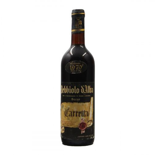 NEBBIOLO D'ALBA 1970 TENUTA CARRETTA Grandi Bottiglie