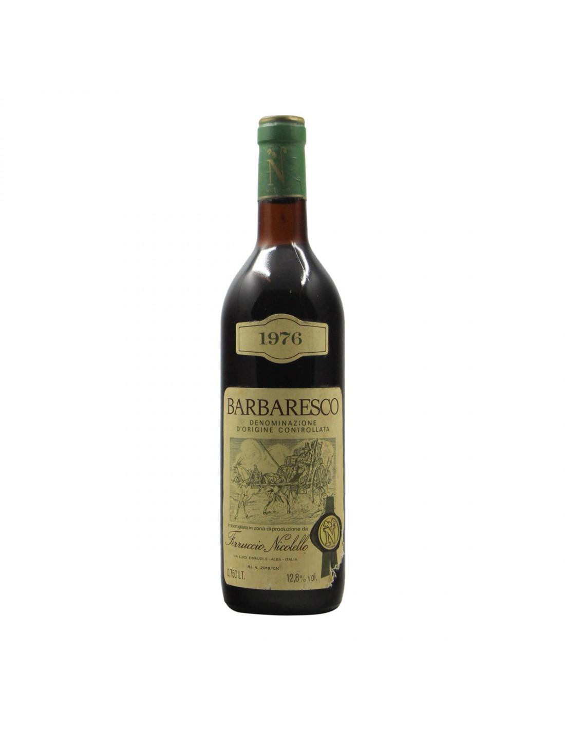 BARBARESCO 1976 NICOLELLO Grandi Bottiglie