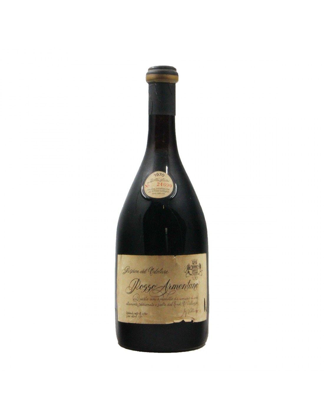 ROSSO ARMENTANO RISERVA DEL TITOLARE 1970 VALLUNGA Grandi Bottiglie