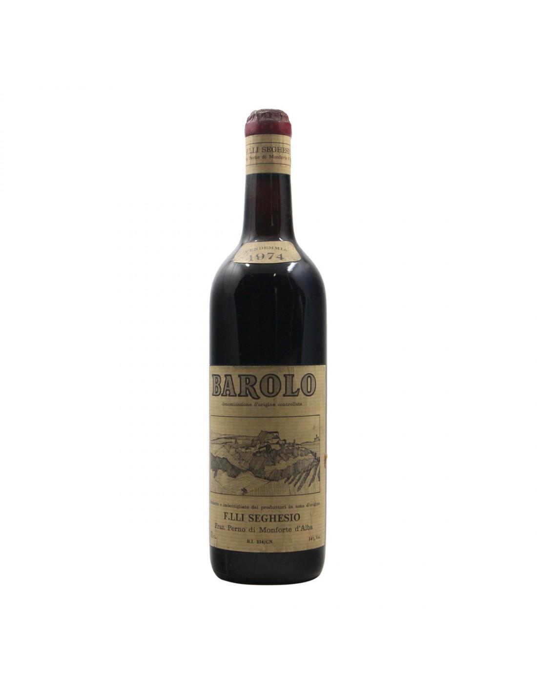 Barolo 1974 SEGHESIO GRANDI BOTTIGLIE