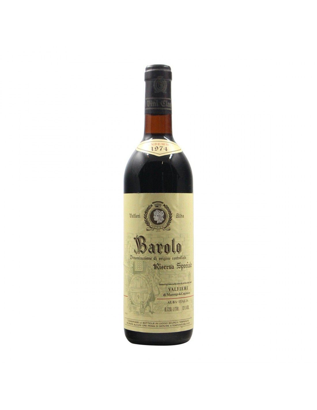 BAROLO RISERVA VALFIERI 1974 VALFIERI Grandi Bottiglie