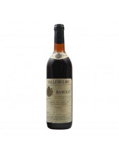 BAROLO 1974 VALLEBELBO Grandi Bottiglie