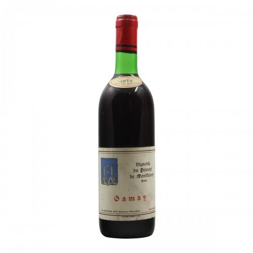 GAMAY 1975 VIGNOBLE DU PRIEURE' DE MONTFLEURY Grandi Bottiglie