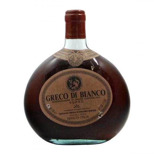 VINO GRECO DI BIANCO 1979 COOP. AGRICOLA CALABRO IONICA BIANCHESE Grandi Bottiglie