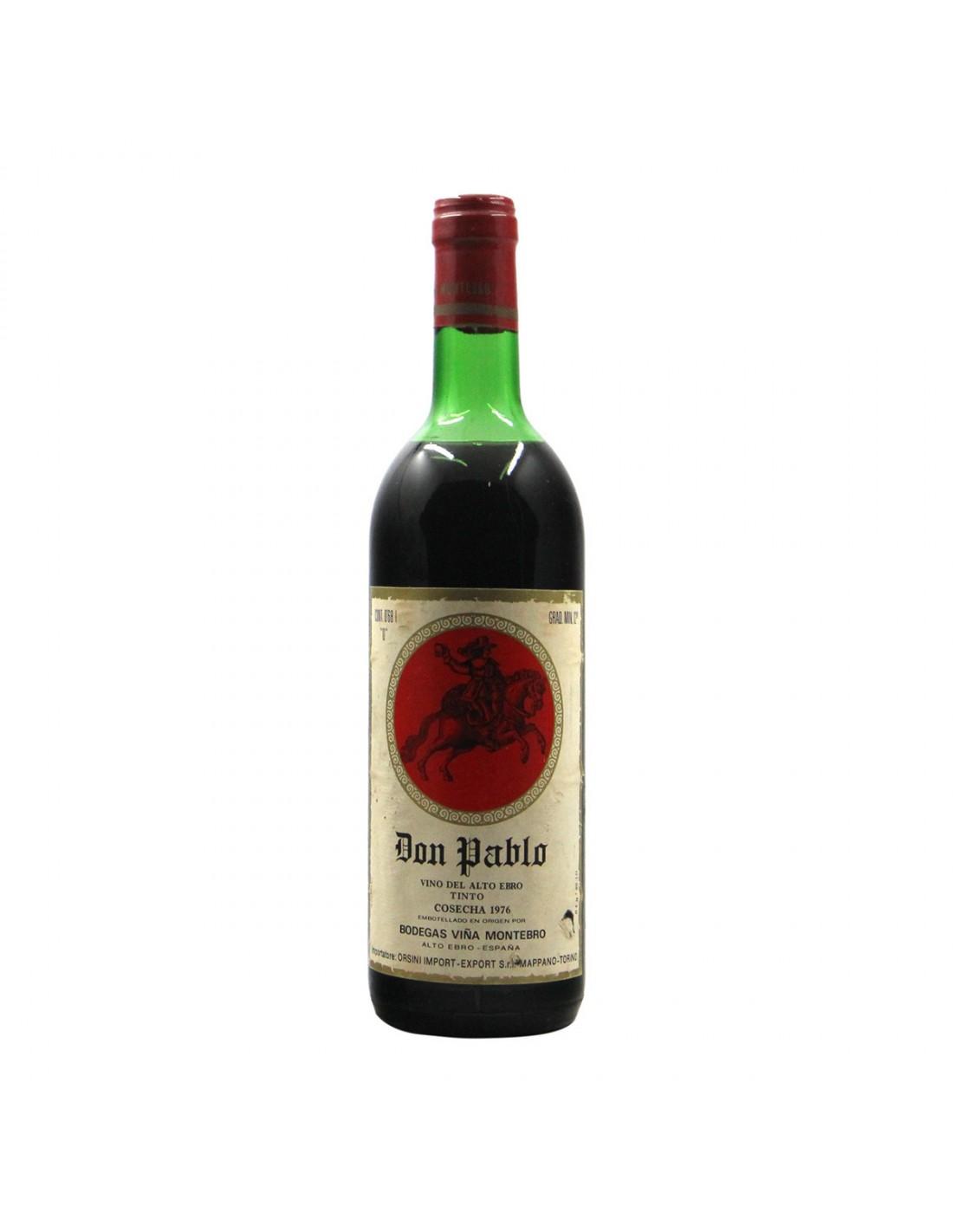 DON PABLO COSECHA 1976 BODEGAS VINA MONTEBRO Grandi Bottiglie