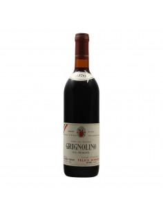 GRIGNOLINO 1976 FELICE BONARDI Grandi Bottiglie