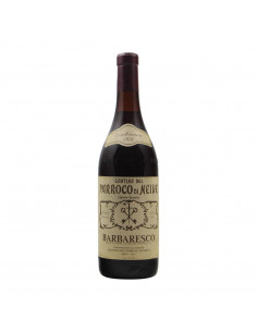 BARBARESCO VIGNETO DEL BASARIN CLEAR COLOUR 1976 CANTINA DEL
