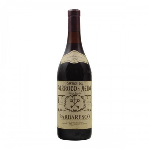 BARBARESCO VIGNETO DEL BASARIN CLEAR COLOR 1976 CANTINA DEL PARROCO DI NEIVE Grandi Bottiglie