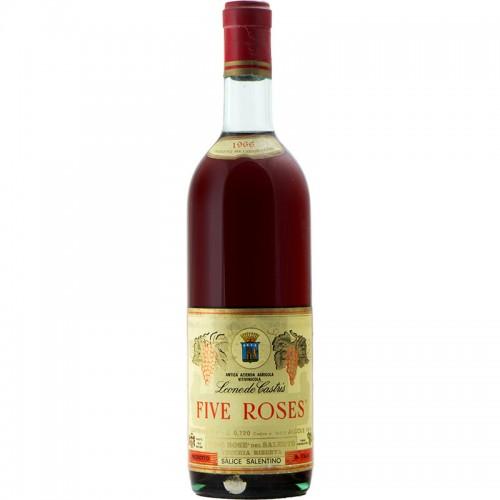 FIVE ROSES 1966 LEONE DE CASTRIS Grandi Bottiglie