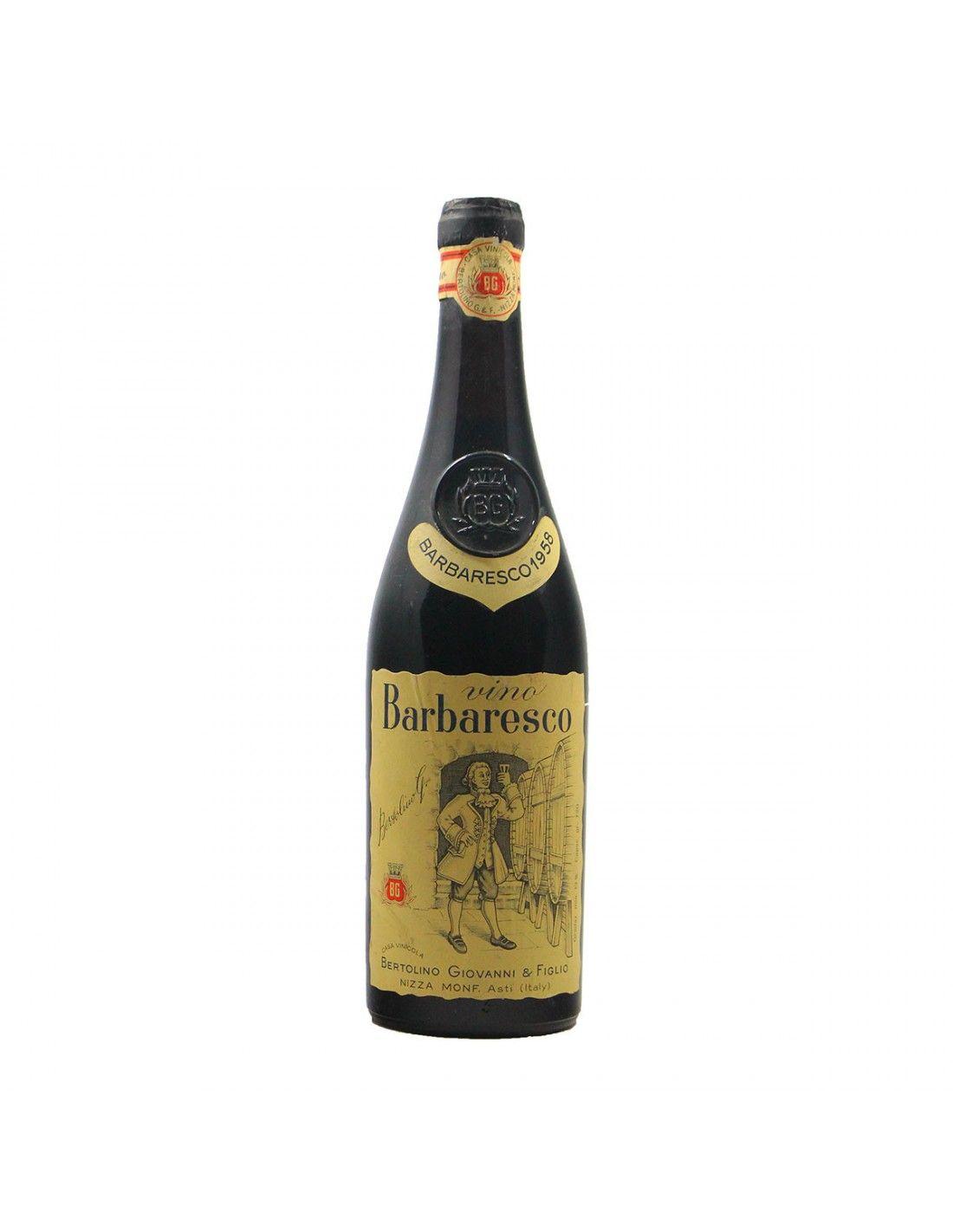 Barbaresco 1958 BERTOLINO GRANDI BOTTIGLIE