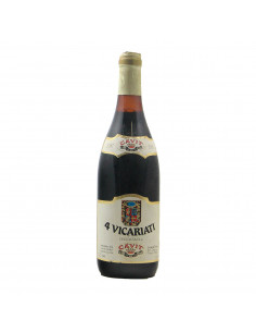 4 VICARIATI 1981 CAVIT Grandi Bottiglie