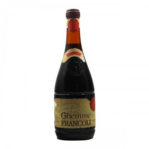 GHEMME 1971 FRANCOLI Grandi Bottiglie