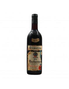 BARBARESCO 1970 RIVETTO ERCOLE Grandi Bottiglie