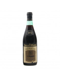 I PIANI 1972 SELLA & MOSCA Grandi Bottiglie