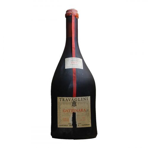 GATTINARA SELEZIONE NUMERATA 3.78 L 1967 TRAVAGLINI Grandi Bottiglie