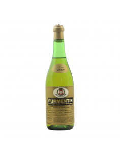 FURMENTIN DI COSSANO BELBO BIANCO 1980 CANTINA DOLCETTO E MOSCATO Grandi Bottiglie