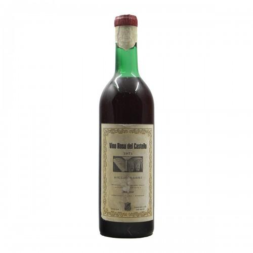 Vino Rosa Del Castello Giulio Gabri 1971 SCHIAVENZA GRANDI