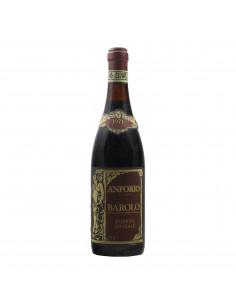 BAROLO RISERVA SPECIALE 1971 ANFORIO Grandi Bottiglie
