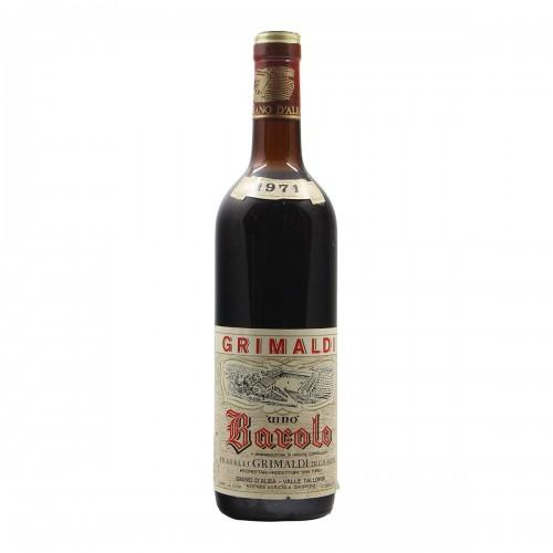 BAROLO 1971 GRIMALDI GIUSEPPE Grandi Bottiglie