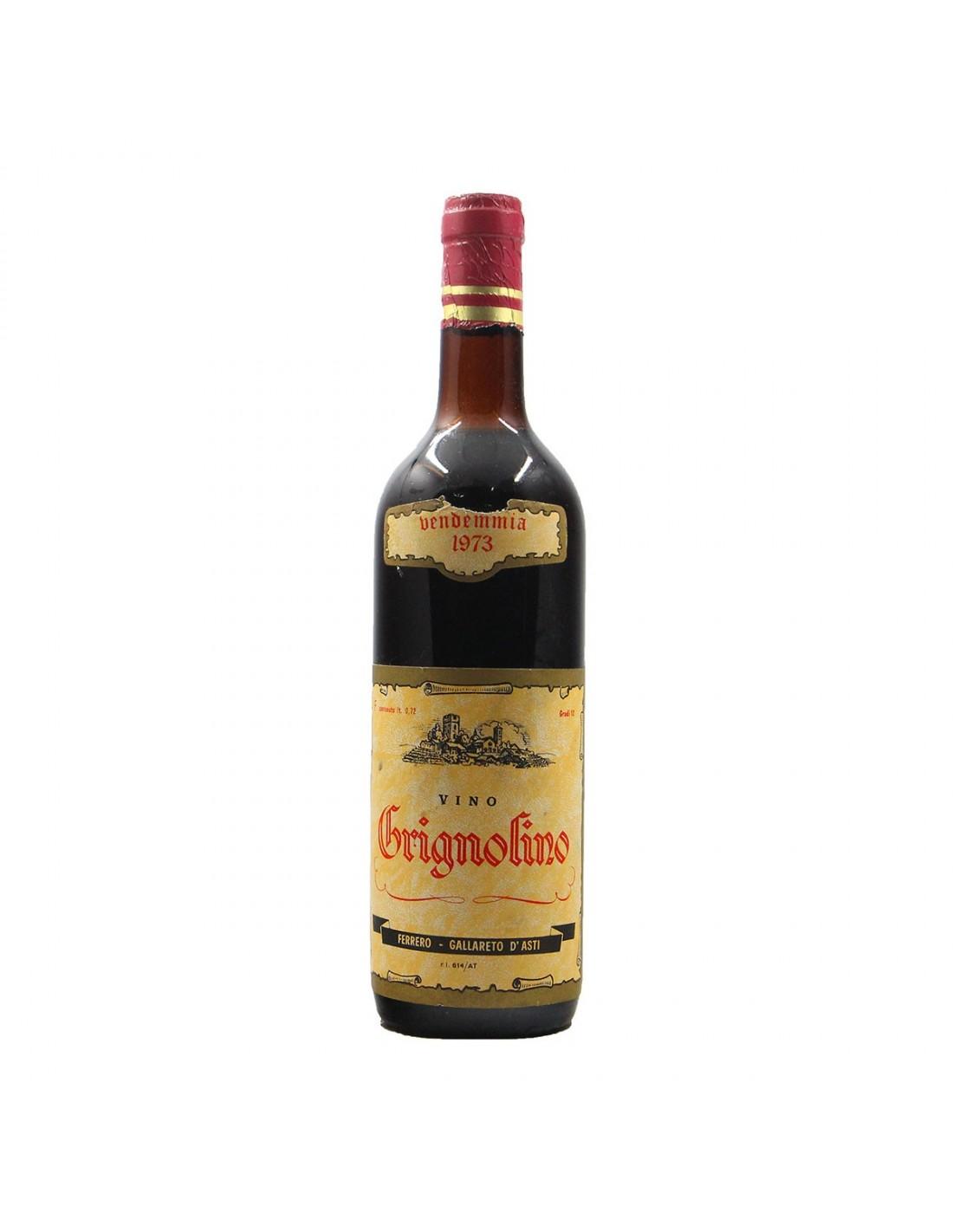 GRIGNOLINO 1973 FERRERO Grandi Bottiglie