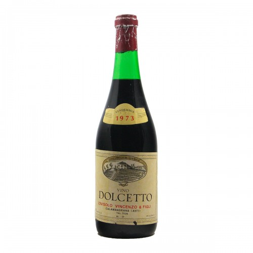 DOLCETTO 1973 LOVISOLO VINCENZO Grandi Bottiglie