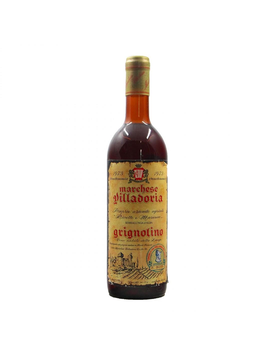 GRIGNOLINO 1973 VILLADORIA Grandi Bottiglie
