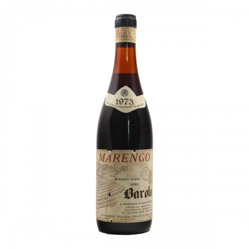 BAROLO 1973 MARENGO STEFANO Grandi Bottiglie