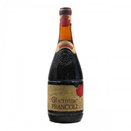 GHEMME 1973 FRANCOLI Grandi Bottiglie
