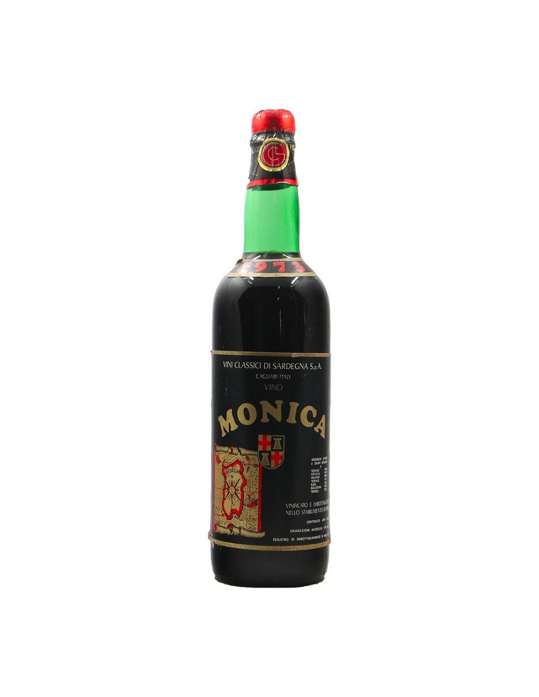 Monica 1973 VINI CLASSICI DI SARDEGNA GRANDI BOTTIGLIE
