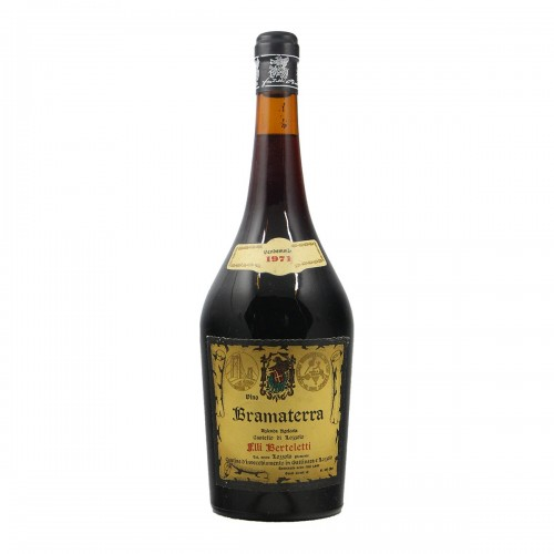 BRAMATERRA MAGNUM 1971 FRATELLI BERTELETTI Grandi Bottiglie
