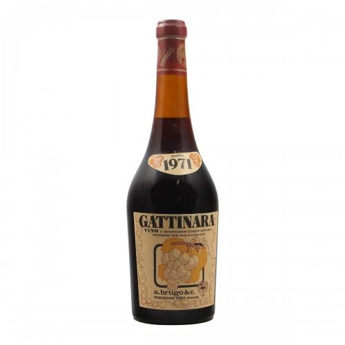 Gattinara 1971 AGOSTINO BRUGO GRANDI BOTTIGLIE