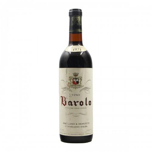 BAROLO 1971 MAGLIANO & SERVETTI Grandi Bottiglie