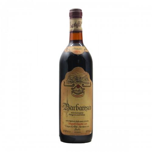BARBARESCO 1974 CASETTA Grandi Bottiglie