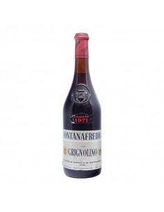 GRIGNOLINO 1971 FONTANAFREDDA Grandi Bottiglie