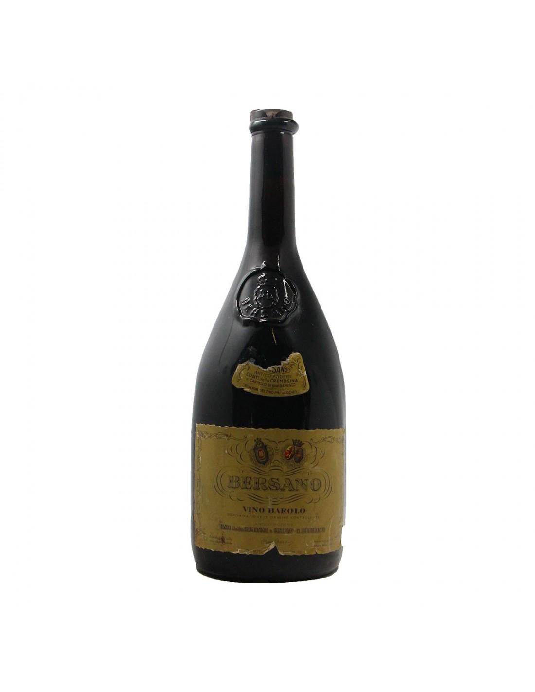BAROLO RISERVA SPECIALE CREMOSINA 1964 BERSANO Grandi Bottiglie