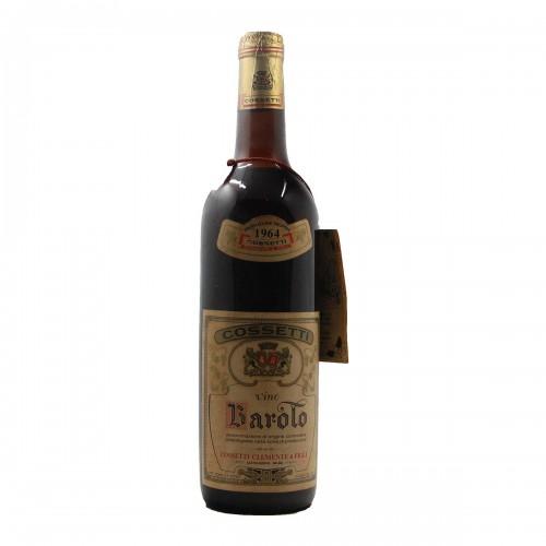 BAROLO 1964 COSSETTI CLEMENTE Grandi Bottiglie