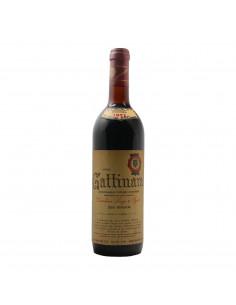 Gattinara 1971 DESSILANI LUIGI GRANDI BOTTIGLIE