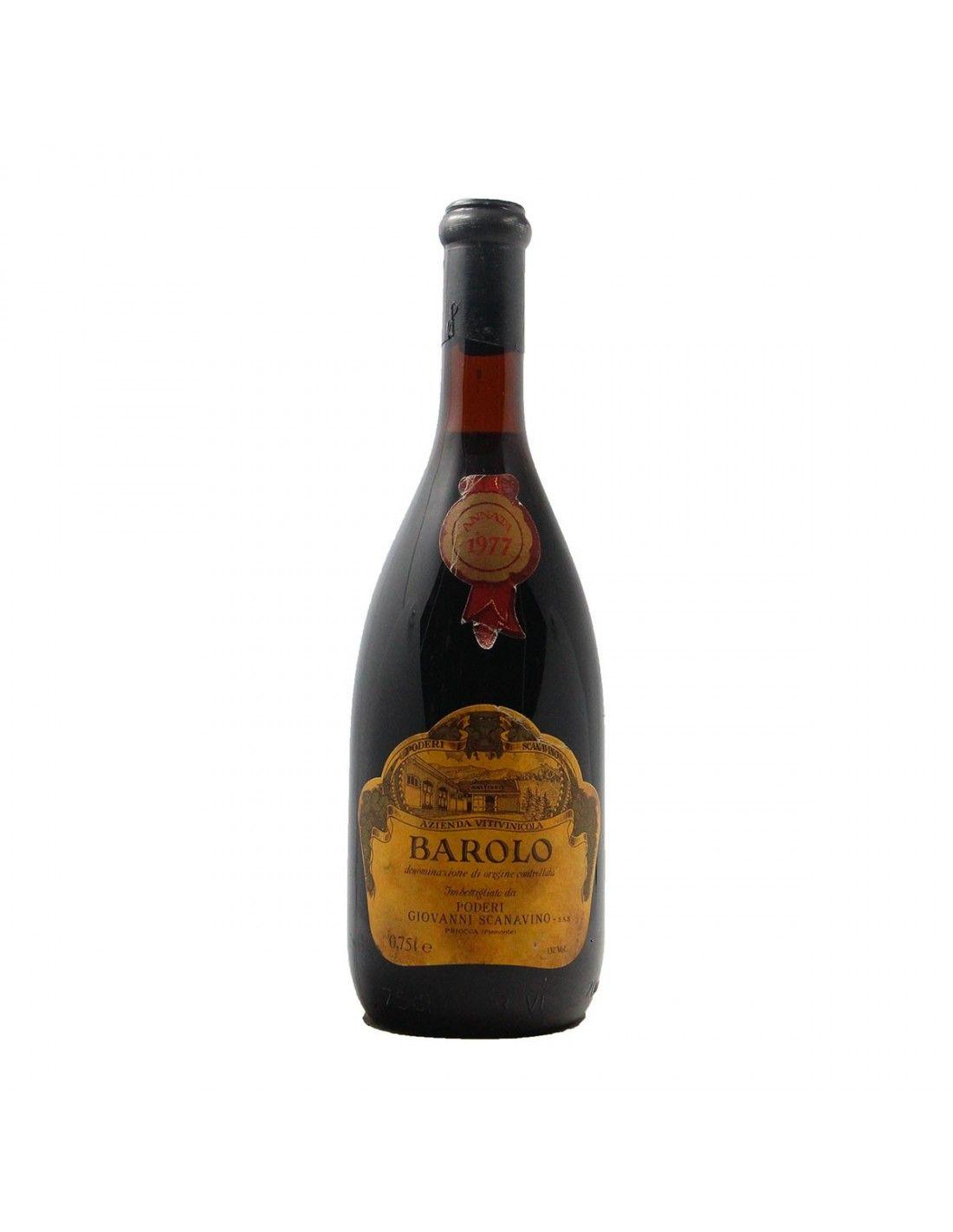 BAROLO 1977 SCANAVINO Grandi Bottiglie