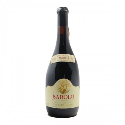 Barolo 1982 CAUDA LUIGI GRANDI BOTTIGLIE