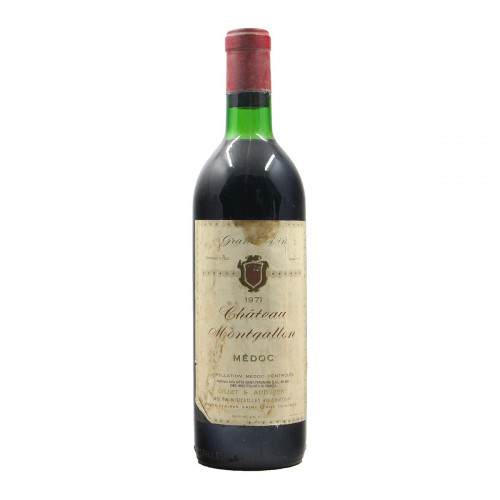 CHATEAU MONTGALLON 1971 CHATEAU MONTGALLON Grandi Bottiglie