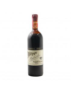 BAROLO CASTELLERO RISERVA LOW LEVEL 1982 FRATELLI BARALE Grandi Bottiglie