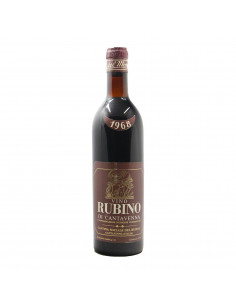 RUBINO DI CANTAVENNA 1968 CANTINA RUBINO DI CANTAVENNA Grandi Bottiglie