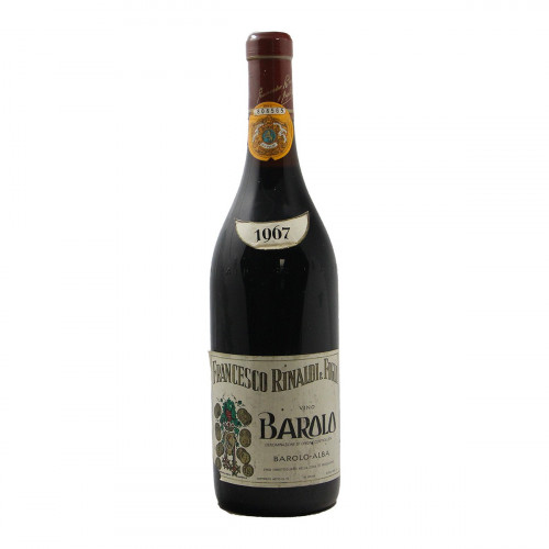 BAROLO 1967 RINALDI FRANCESCO