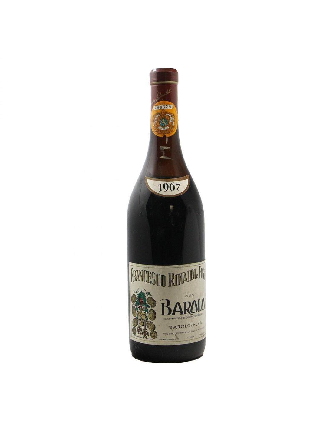 BAROLO LOW LEVEL 1967 RINALDI FRANCESCO GRANDI BOTTIGLIE