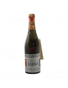 BAROLO CLEAR COLOUR 1957 FONTANAFREDDA Grandi Bottiglie
