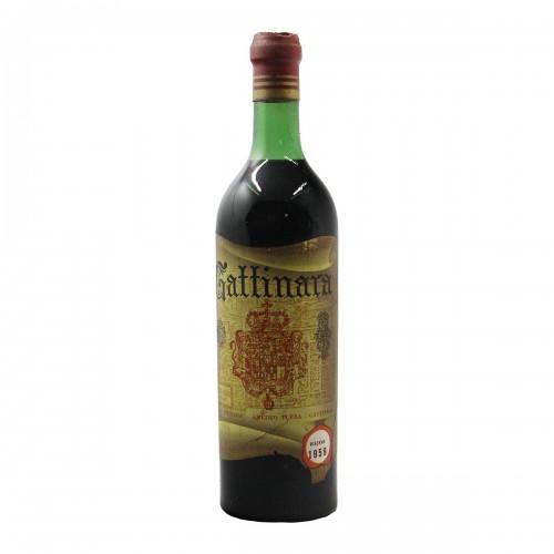 GATTINARA RISERVA 1959 TURBA AMEDEO Grandi Bottiglie